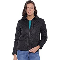 Campus Sutra Women Black Jacket(AW16_JK_W_P4_BL_M)