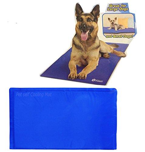 Groß selbst Kühlfunktion Pet ungiftig Cool Gel Matte für Hunde und Katzen Speziell Hitze von Kristallen Relief®