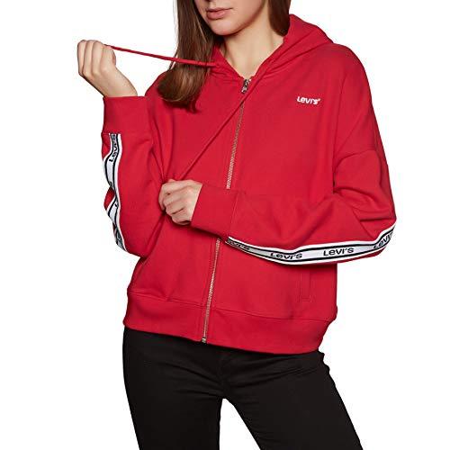 Levis Logo Trim Damen Hoodie-Jacke, Größen Textil:L -