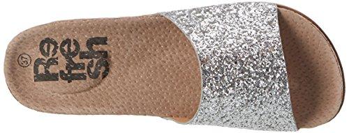 Refresh Damen 63553 Pantoletten Silber (Plata)
