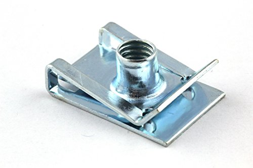 Preisvergleich Produktbild 50x Blechmutter M6 - Verkleidung Clip Schnappmutter für Motorrad Roller Muttern