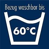 Irisette Freiburg Steppbett mit Baumwollbezug, Wärmestufe duo, 155 x 220 cm