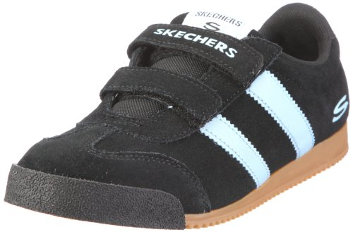 Skechers Memos Commemorate 999830L Mädchen Sneaker Schwarz/BKBL