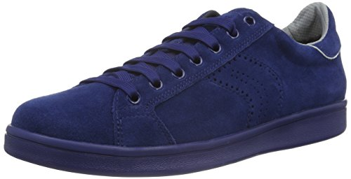 Geox U Warrens B, Baskets Basses Homme, Blau (DK ROYALC4072), 44 EU