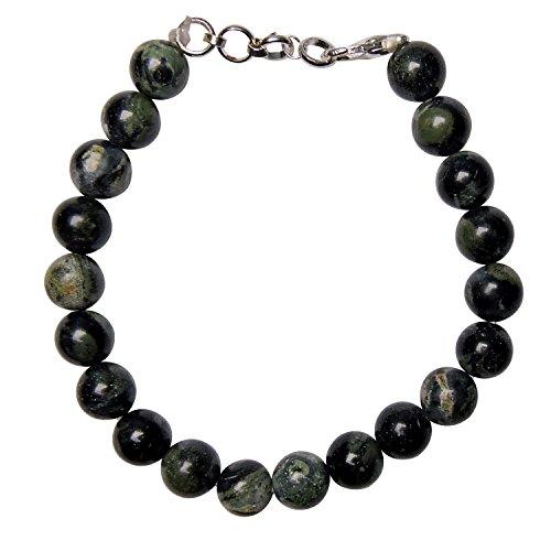 Satyamani Natural Galaxyite Beads Bracelet with Hook