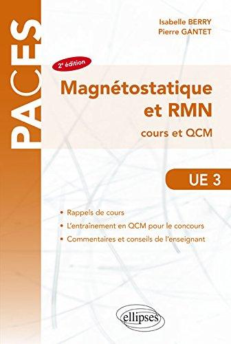 Magnétostatique et RMN Cours et QCM PACES UE3