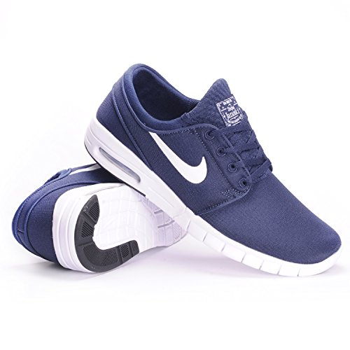 Nike - Chaussures Skateshoes Homme Sb Stefan Janoski Max - Taille:one Size Nero / Bianco (Obsidian / bianco)