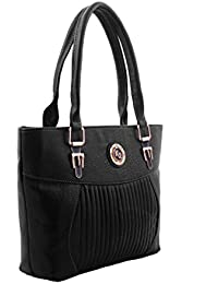 BFC- Buy For Change Fancy Stylish Elegant Black Handbag For Woman And Girls