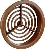 Rejilla para conducto Vent redondas en marrón