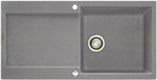 Franke Maris MRG 611–100pietra grigio FRAGRANITE lavandino lavello eccentrico
