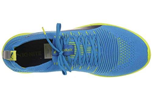 Puma Ignite Proknit Scarpe da Corsa, Uomo Blu (Blau (cloisonné-poseidon-sulphur spring 01))