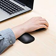 Mouse Pad Ergonomic Mini Gel Mouse & Keyboard Wrist Rest Pad Wrist Support for All Mouse, Laptop, Desktop