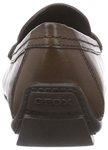 Geox U Moner W 2Fit Herren Mokassin Braun (LT BROWNC6002)