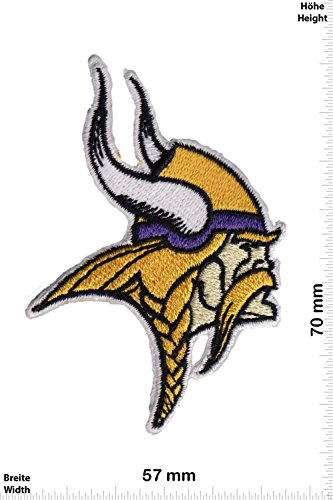 Patch - Minnesota Vikings NFL - klein - Wikinger - USA - Sport USA - Sport USA - Minnesota Vikings - Aufnäher - zum aufbügeln - Iron On - Minnesota Sport