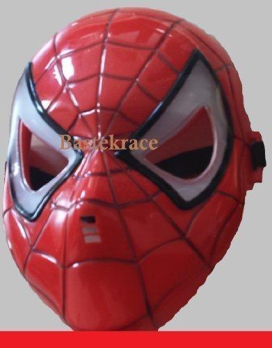Neue Spider Man Maske mit LED Beleuchtung für Kinder