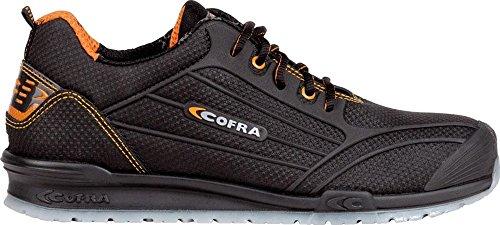 COFRA Moderner Sicherheitshalbschuh S3 SRC Cregan Aus der Beliebten Running Reihe (40, Dunkelbraun)