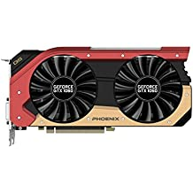 Gainward  GeForce GTX 1060 6GB Phoenix OC GoldenSample (PCIe 3.0, 6GB DDR5 Speicher, HDMI, DVI, 3xDisplayPort)
