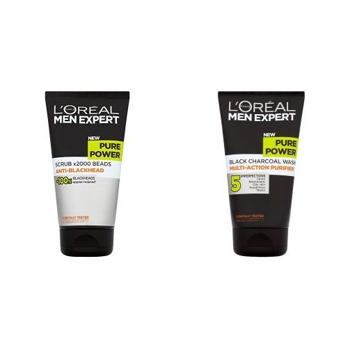 loreal-men-expert-pure-face-scrub-and-face-wash-duo-set