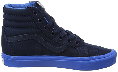 Vans Uy Sk8-Hi Reissue Lite, Scarpe da Ginnastica Alte Bambino Blu (Sole Dip Dress Blues/french Blue)