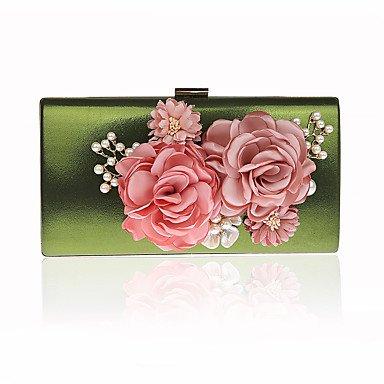 pwne L. In West Frau'S Südkorea'S Handgemachten Blumen Weiblichen Tasche Luxus Bankettabendessen Hand Tasche Tasche Green