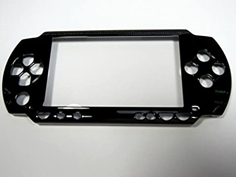Replacement Front Faceplate Case Cover Shell Part for PSP 1000 FAT PSP -Black