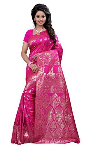 Diseñador Indio De Bollywood Mujeres Zari Trabajo Sari Sari Partido Ropa