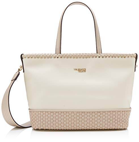 ba972784cc Trussardi Jeans - Mimosa Tote Ns Ooth, Mujer, Beige (Natural), 34.5
