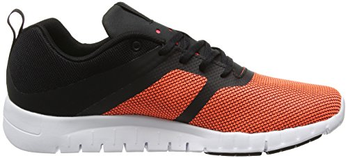 Reebok Damen Bd2104 Trail Runnins Sneakers Mehrfarbig (Black/white/coal/vitamin C)