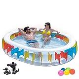 BNMZXNN Aufblasbare Kinderbeckenbadewanne für Erwachsene Aufblasbare Gartenbadewanne für...