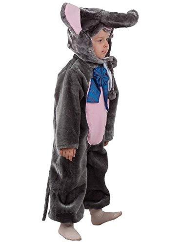 DISBACANAL Disfraz Elefante bebé - Único, 24 Meses