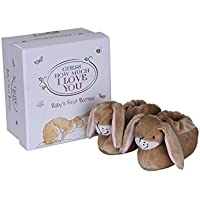 Rainbow Designs Guess How Much I Love You Booties Set, By