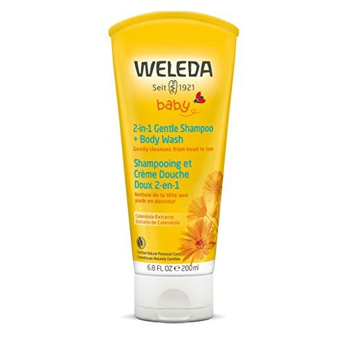 Caléndula baby wash cuerpo cabellos Weleda