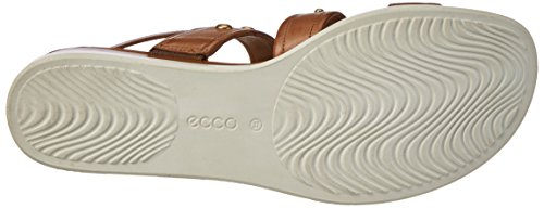 Ecco Ecco Touch Sandal Plateau, Sandales  Bout ouvert femme Braun (2283WHISKY)