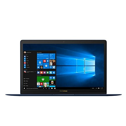 ASUS ZenBook 3 UX390UA-GS041T 12.5 inch Notebook (Intel Core i5-7200U, Full HD 1920x1080 Screen, 8 GB, 512 GB SSD, Windows 10, with Carry Sleeve and Dongle) - Navy