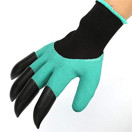 Vhng guanti da giardinaggio texture antiscivolo impermeabili flessibili protettivi e resistenti all'usura 2 sconti