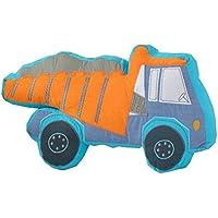 Almohada suave linda del amortiguador de la almohadilla de la historieta de la simulación del juguete de la felpa, vehículo de la ingeniería - Peluches y Puzzles precios baratos