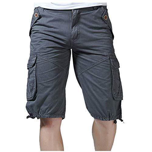 UFACE Herren Fitness Shorts Meliert - Hochwertige Kurze Jogginghose & Sport Laufhose - mit Taschen & Slim Fit Ideal für Fitnessstudio & Gym - Sommer Freizeit Hose für Männer