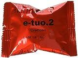 100 CAPSULE POP CAFFE' E-TUO 2 CREMOSO COMPATIBILI FIOR FIORE, LUI ESPRESSO E MITACA MPS