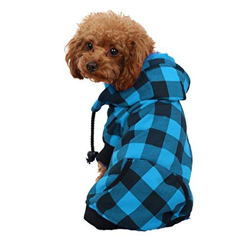 Camisa con capucha para perro Pawz Road, cálida y suave, para invierno, ideal...