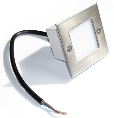 Wandeinbaustrahler Royal LED Warmweiß 230V 1,5W Verb