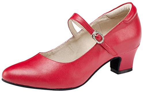 CFP ,  Damen Jazz, modern Red(Indoor Sole)