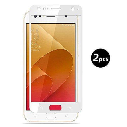 2-PackAsus-ZenFone-4-Selfie-ZD553KL-Vetro-Temperato-EUGO-3D-Full-Coverage-Vetro-Temperato-9H-Premio-di-Protezione-Asus-ZenFone-4-Selfie-ZD553KL-Pellicola-Schermo