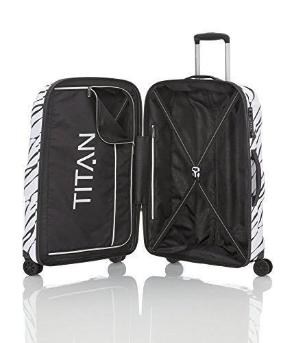 TITAN X2 Hartschalenkoffer Handgepäck, 825406-02 Koffer, 55 cm, 40 L, Pepper Salt