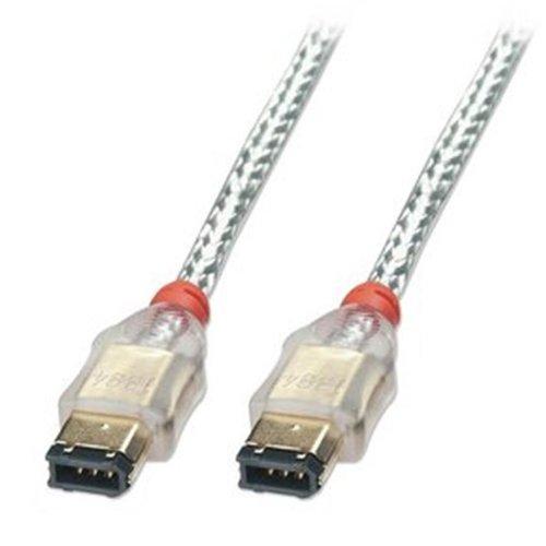 LINDY 30863 - Vergoldet Premium Firewire-Kabel - 6 Pol-Stecker an 6 Pol-Stecker - 4,5m