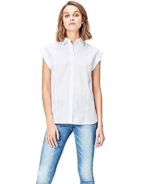 [Sponsorizzato]FIND Camicia Donna in Cotone