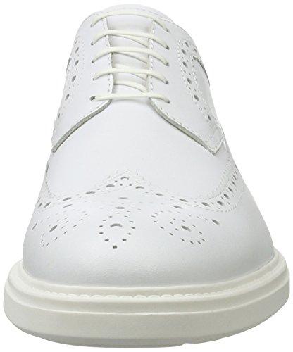 Vagabond Zack, Brogues Homme Weiß (White)