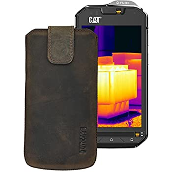 purchase cheap cd9aa f779d Suncase Mobile Phone Case Slim Edition Leather Case for Caterpillar ...