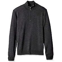 Goodthreads Merino Wool Quarter Zip Sweater - Sudadera Hombre
