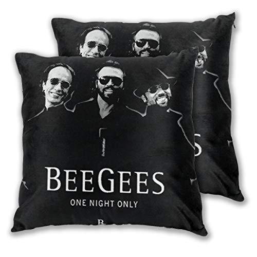Liantianhao Unisex, Bee Gees Band One Night Only Logo Fashion Pillow Cover -