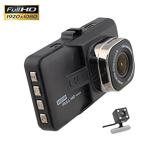 QUMOX 3 '' HD 1080P im Fahrzeug Auto Bindestrich Cam DVR Kamera Videorecorder G-Sensor HDMI -